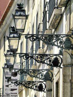 """Mário Marzagão alfacinha: Candeeiros de Lisboa - Rua de """"O Século"""" (Alto do Longo)."""