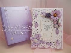 Every card needs to be sent and if you add lots of embellishments it needs to be big enough to accommodate them. Over the last few videos I have been making ...