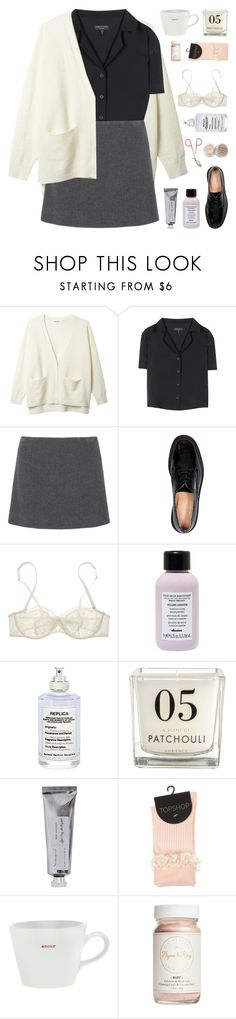 """""""I'M TAKING YOUR HAND"""" by cappvccino ❤ liked on Polyvore featuring rag & bone, Miu Miu, Robert Clergerie, Stila, Nina Ricci, Davines, Maison Margiela, Bloomingville, Keith Brymer Jones and Flynn&King"""