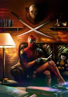 #Deadpool #Fan #Art. (Deadpool) By: Mehdic. (THE * 5 * STÅR * ÅWARD * OF: * AW YEAH, IT'S MAJOR ÅWESOMENESS!!!™)[THANK U 4 PINNING!!!<·><]<©>ÅÅÅ+ 38. 15.