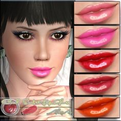 Sims 3 Finds - Cool Sorbet Lip Gloss at AlgA Sims