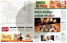 Ação Dia da Pizza - Jornal da Pizza - Capa Falsa Jornal de Santa Catarina