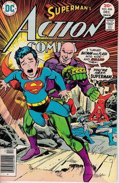 Action Comics 466  December 1976 Issue  DC Comics  Grade