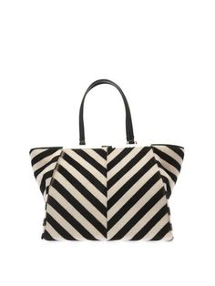2ffd104bd5fb Fendi 3Jours trapeze wing calf-hair tote Fendi Tote