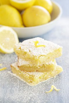 i love lemon squares with all of my heart