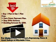 Buy Dholera Plots on Fedara-Pipli Highway at affordable Price near Dholera International Airport. Special Offer !!! Buy 1 Plot & Get 1 Free. Booking Amount Rs. 5000/- Only. zero Down Payment Plan. Easy EMIs Scheme. Features & Amenities: Near Airport, Metro, Expressway, & Hotel Gallops. 20+ World Class Amazing Amenities. 8-9 mins from CBD (Central Business District, Dholera).