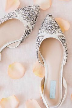 Flat Wedding Shoes For Lovers Of Comfort And Style ❤ See more  http   fe66ef941074