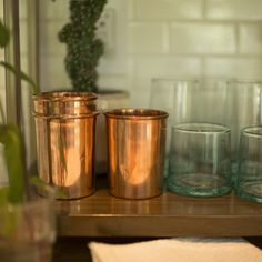 Copper Cup | Drinkware | NEW Dining + Kitchen | Schoolhouse Electric & Supply Co. | #chasingthelight