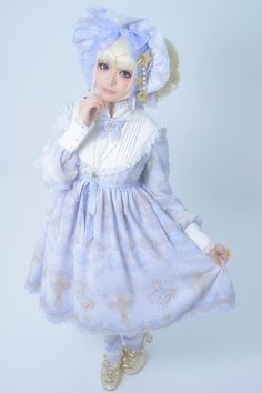 Celestial ☆ Alternative Purple tumblr ☆彡 I adore this print and bonnet!
