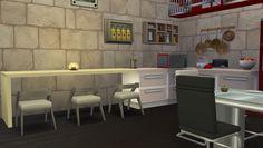 Sims 4 : Aménagement de la colocation immeuble Lumina