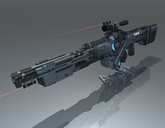Inspiration for a heavy-duty plasma rifle that Link shows Luke how to fire. Massive and powerful, this is a medium-range weapon designed to take down large animals with thick hides, like elephants and rhinos. Image from: http://terminatorroleplay.wikia.com/wiki/90Watt_Phased_Plasma_Heavy_Rifle