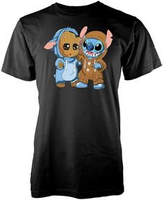Ramgfx Groot Stitch Mashup Adult Kids T Shirt T Shirts For Women, Stitch, Mens Tops, Kids, Clothes, Fashion, Young Children, Outfits, Moda