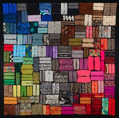 Benner's work was chosen from 750 submissions from 19 foreign countries and 42 states. Her piece titled Body Parts 3: Cuffed was one of 85 quilts selected for this exhibition. This is the seventh time one of Benner's quilts will be featured in Quilt National.