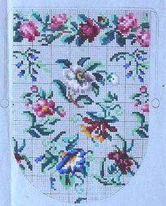 Purse pattern - Needlework/Berlin Work