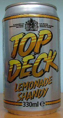 Top Deck Shandy <3 every Saturday night watching Price is Right and Blind Date!