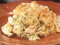 Chicken Divan... one of my favorites! (minus the mushrooms!)
