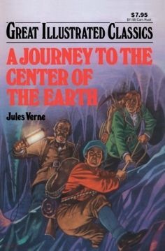 A Journey to the Center of the Earth Great Illustrated Classics by Jules Verne - reader (lexile bought on Kindle Dr Seuss Book Collection, Jules Verne Books, Childrens Ebooks, Hungry Children, Nancy Drew Mysteries, Star Wars Books, Open Book, Book Series, Literature
