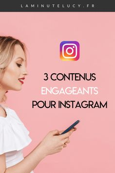 Découvre 3 contenus puissants pour favoriser les échanges et augmenter ta visibilité sur Instagram ! Photo Pour Instagram, Instagram Tips, Inbound Marketing, Digital Marketing, Le Web, Insta Like, Ecommerce, Important, Blog