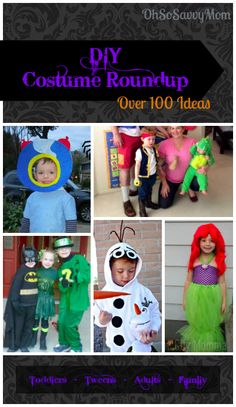 100+ DIY Halloween Costume Ideas for the whole family!