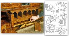 Secret Compartment Furniture - Furniture Plans and Projects   WoodArchivist.com