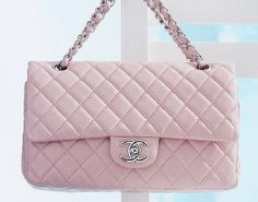 Chanel Quilted Chain Bag In Pink <3
