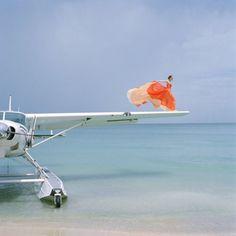 飛行機の羽からフライト♪ ote free photo -フリーフォト-