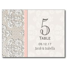 ==>Discount          	Pink Vintage Lace Wedding Table Number Card Postcard           	Pink Vintage Lace Wedding Table Number Card Postcard in each seller & make purchase online for cheap. Choose the best price and best promotion as you thing Secure Checkout you can trust Buy bestDiscount Deals ...Cleck Hot Deals >>> http://www.zazzle.com/pink_vintage_lace_wedding_table_number_card_postcard-239758420603084350?rf=238627982471231924&zbar=1&tc=terrest