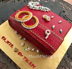 Creative Cake Decorating, Cake Decorating Techniques, Creative Cakes, Indian Cake, Indian Wedding Cakes, Happy Birthday Brother, Happy Birthday Cakes, Mehndi Cake, Luxury Cake