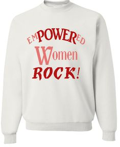 655dd2d5 Funny Tee's · Empowered Shirt, White