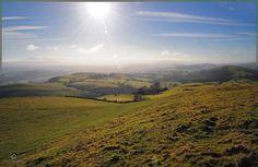 The beautiful valley of    Llandovery