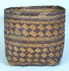 Lot: 48: North Carolina early Cherokee double cane basket, Lot Number: 0048, Starting Bid: $200, Auctioneer: Case Antiques, Inc. Auctions & Appraisals, Auction: Important Southern Antiques and Art Auction, Date: May 12th, 2007 CDT