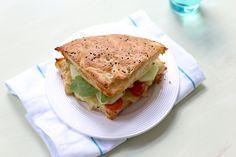 Turks brood met kip