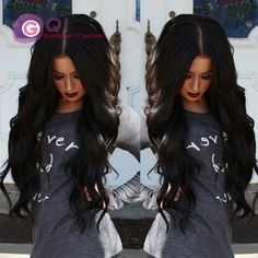 GQ Body wave silk top glueless full lace wigs silk top lace front wig 4*4inch full silk base wigs with baby hair for black women