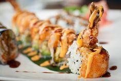 Spicy Shrimp Tempura Roll. My Favorite!!!