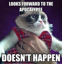 Worth sharing again- Bad Luck Grumpy Cat