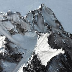Conrad Jon Godlys Mountain Paintings Drip from the Canvas
