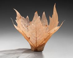Beautiful Leaf Bowls Made From Real Leaf Skeletons