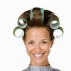 and soup can rollers! This was my hairstyle effort for a time. Damp Hair Styles, Curly Hair Styles, Hair Secrets, Hairspray, The Good Old Days, Hair Dos, Diy Hairstyles, Health And Beauty, Hair Makeup