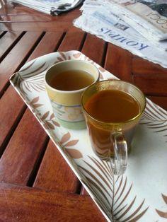 Wedang Jahe & Lemon Madu