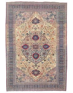 TABRIZ CARPET | PROBABLY FROM THE WORKSHOP OF HADJI JALILI, NORTH WEST PERSIA, CIRCA 1890 15ft.3in. x 10ft.2in. (465cm. x 310cm.) | Christie's