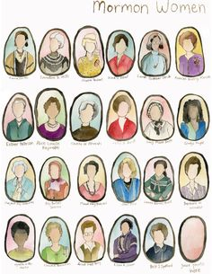 Mormon LDS Women Poster 11x17 by ashmae on Etsy, $25.00 buy once, use often giveaway from #ashmaedotcom