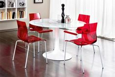 Red Dining Room Chairs Best With Images Of Red Dining Property In Design
