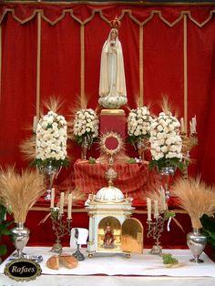 Altares del Corpus Christi de Sevilla:::::RAFAES