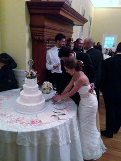 Ashton Villa 200 Guests Galveston TX Chopin Mon Ami Catering & Cakes