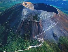 Volcano Vesuvius Italy bay, Naples aug 19th, 2013