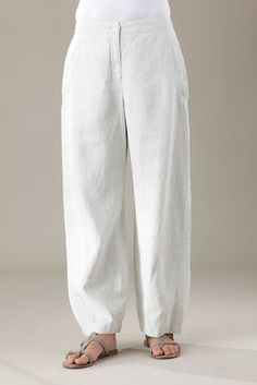 Trousers Santje wash - 100%Linen