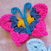Ravelry: Fridgie Butterfly pattern by JudyK