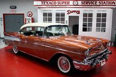 1957 Chevrolet Bel Air=My Daddy & Mom's 1957 Chevy was just like this one! Bought it Brand New-Marilyn (Busby) Horchem