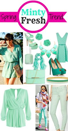 Minty Fresh - Spring Trend for 2013 | My Thirty Spot