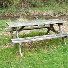 How To Restore A Picnic Table